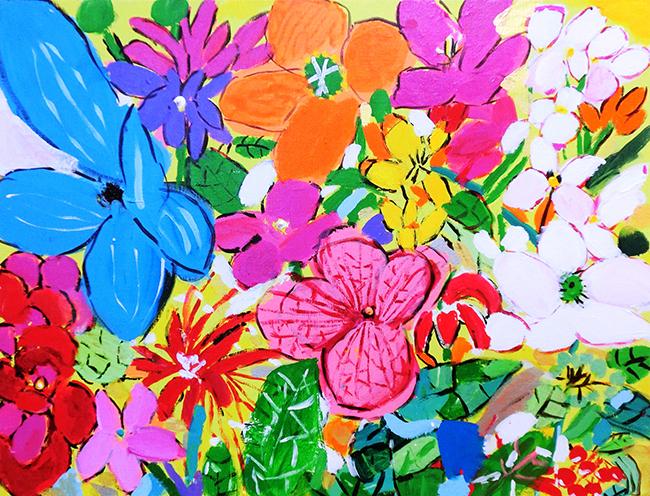 『Flower たくさんの花 命をつなぐ』百田佳恵